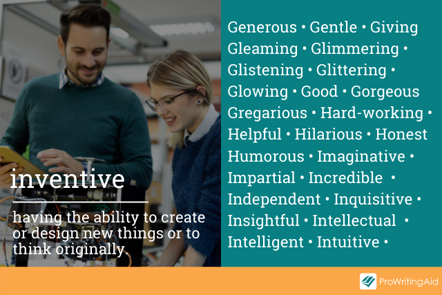 adjectives that can describe people