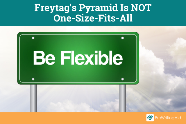 Image showing that Freytag's Pyramid is not one-size-fits-all