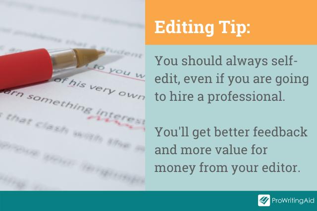 always self-edit tip