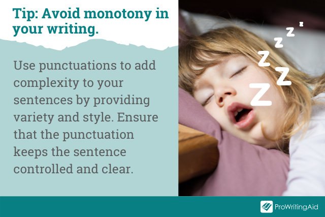 Image showing punctuation tip