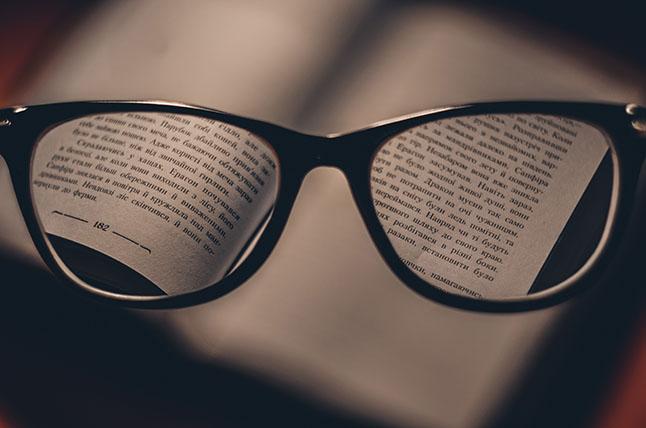 Beta reading glasses