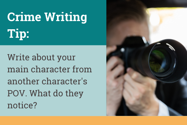Crime Writing Tip: Character