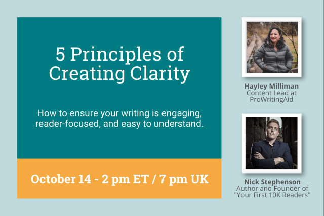 Webinar: How to Create Clarity in Your Writing With Nick Stephenson