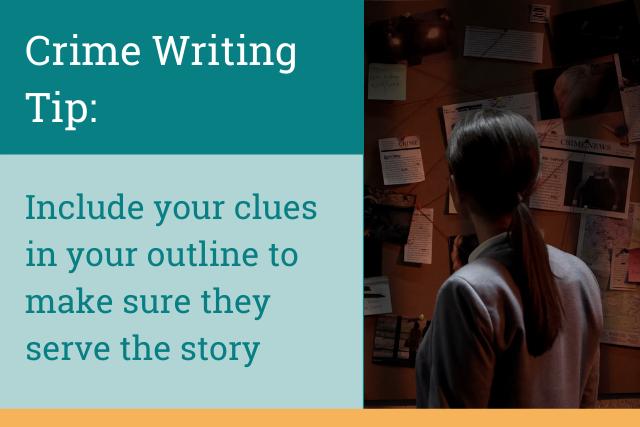 Crime Writing Tip: Writing Clues