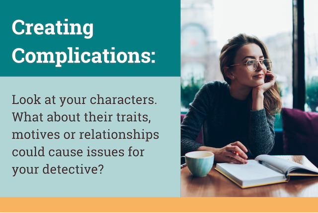 how to create story complications