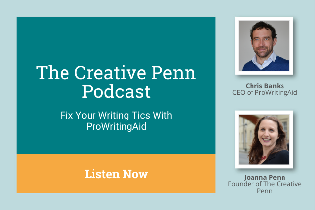 Take Control of Your Editing: Listen to Chris Banks on the Creative Penn Podcast
