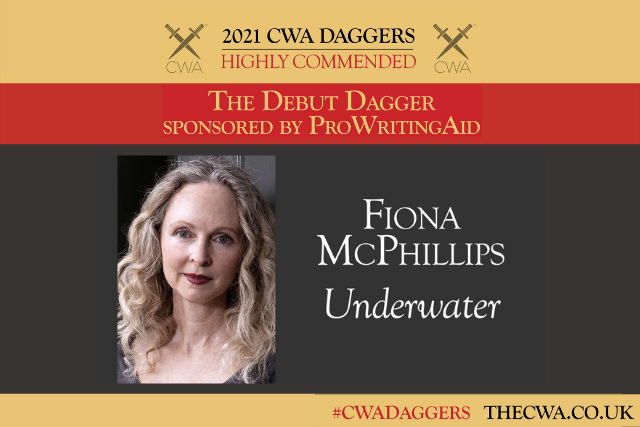 Highly Commended for the Debut Dagger Award, Fiona McPhillips