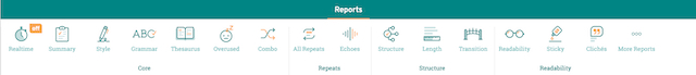ProWritingAid reports