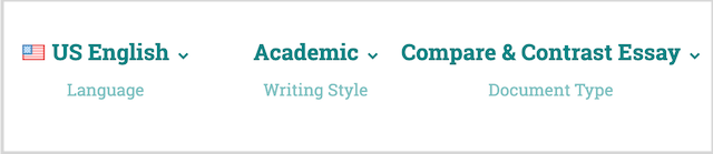 changing writing style in prowritingaid