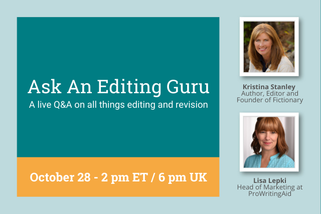 Webinar: How to Edit Your Book: An Editing Q&A