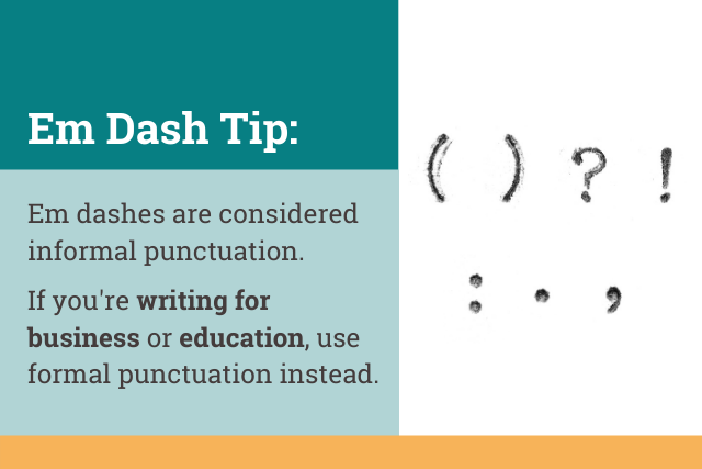How to Use Em Dashes in Business Writing