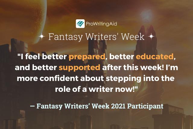 fantasy week feedback quote