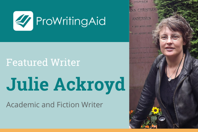 featured writer cover: Julie Ackroyd