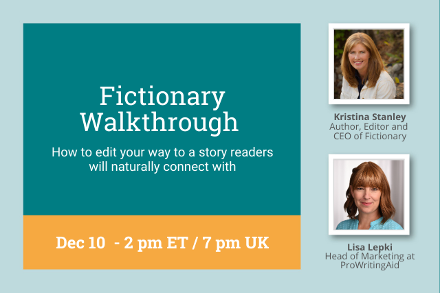 Webinar: Fictionary Walkthrough with CEO, Kristina Stanley