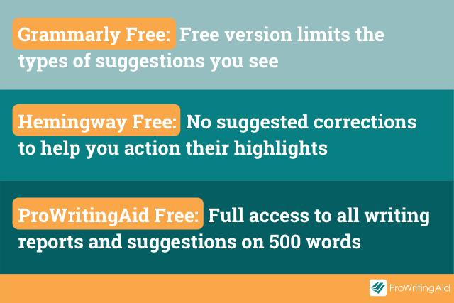 Free Versions Comparison