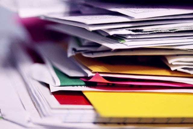 Portfolio Papers Stacked
