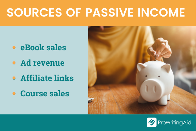 sources of passive income for freelancers
