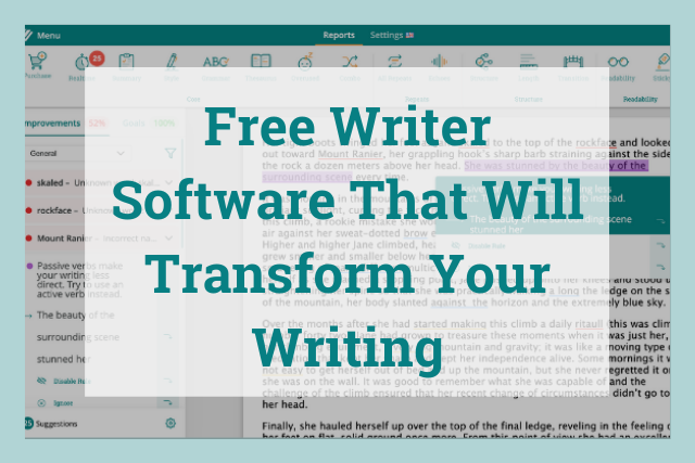 ProWritingAid Free Writer Software
