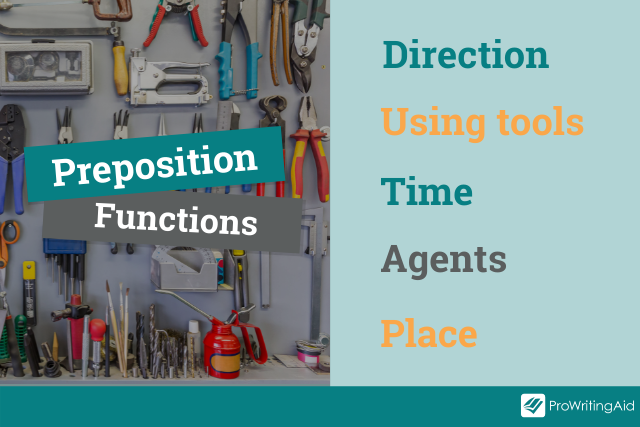 functions of prepositions in a list