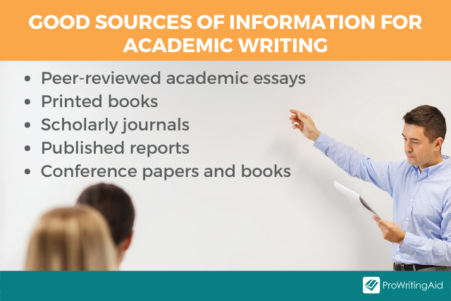 Image showing different sources of information