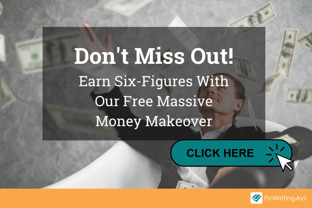 """Image showing investment ad with words """"Don't Miss Out! Earn Six-Figures With Our Free Massive Money Makeover"""""""