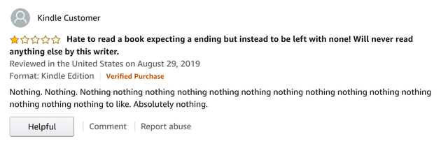 Harsh Review