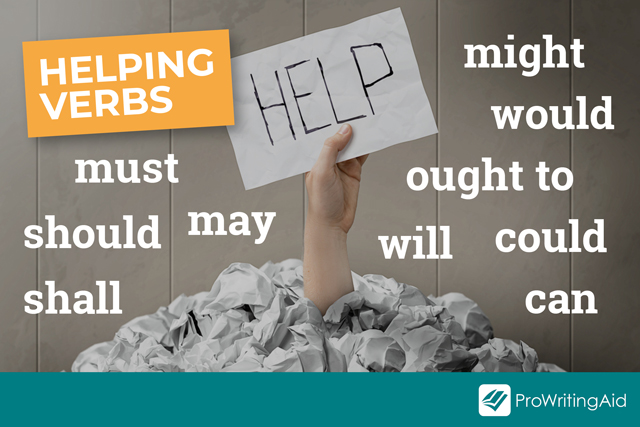 examples of helping verbs