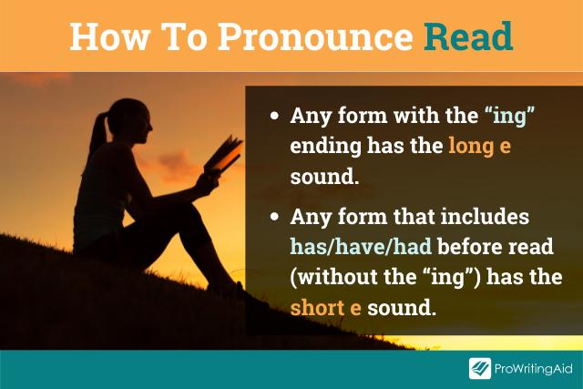 "Pronunciation of ""read"" tip"