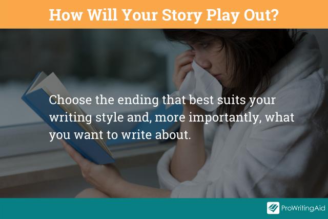 Image showing choosing your ending