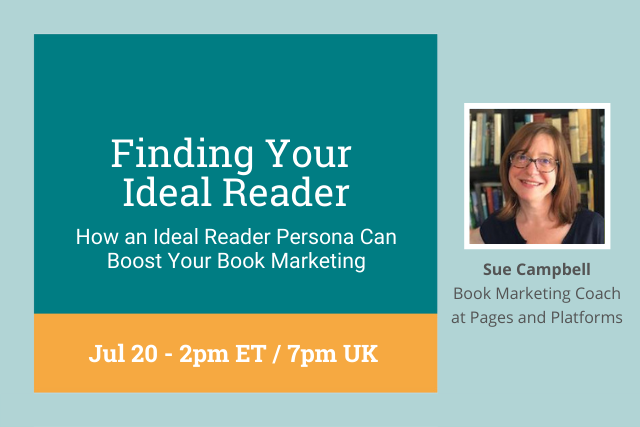 finding your ideal reader, 2pm ET/7pm UK