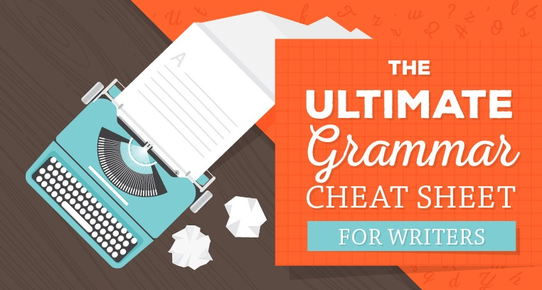 The Perfect Grammar Cheat Sheet [infographic]