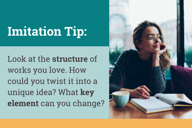 imitation in writing tips