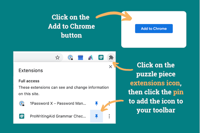 chrome extension install instructions