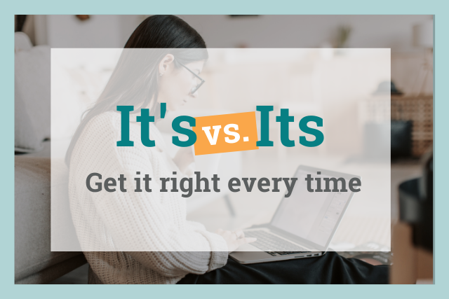 it's vs its: get it right every time