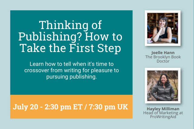 Thinking of Publishing? How to Take the First Step