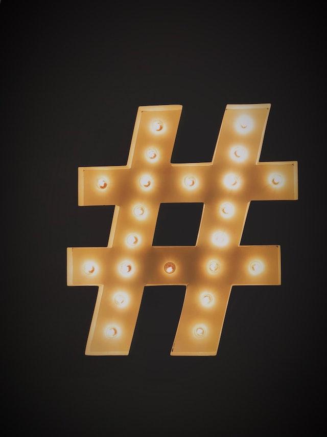 Hashtag Symbol to Represent Slack Channels
