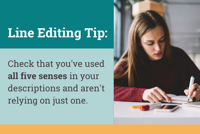 line editing tips