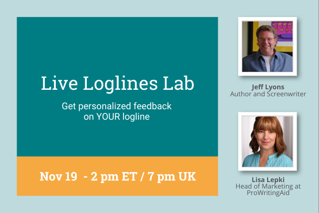 Webinar: Live Loglines Workshop: Get Personalized Feedback On YOUR Logline