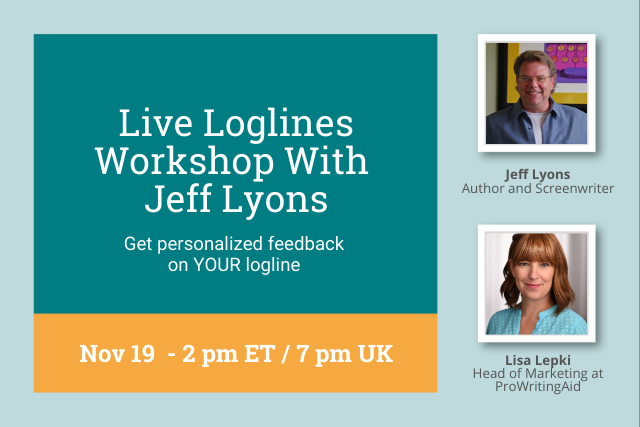 Prepare Your Logline for Our Live Loglines Lab