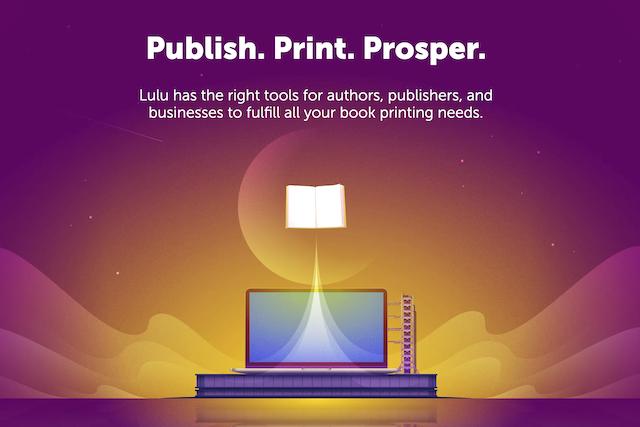 lulu printing graphic