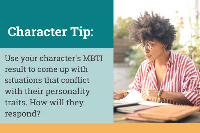 how to create characters with the mbti test