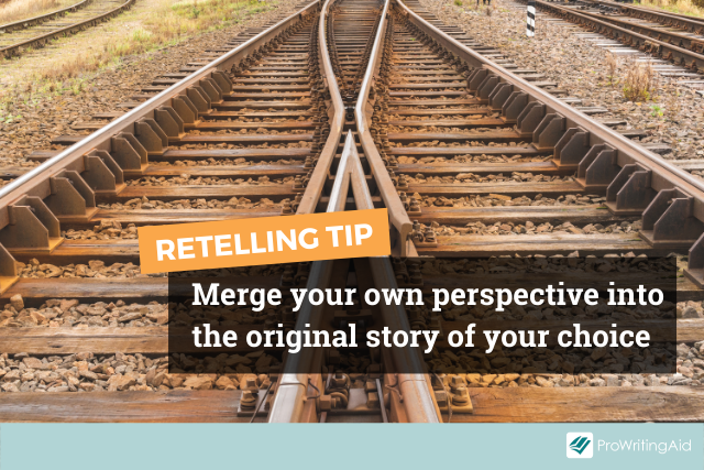 The trick for retelling classic stories is merging your perspective with the story