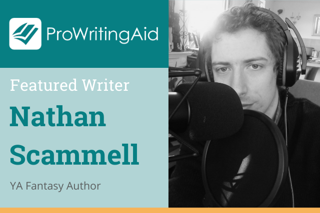nathan scammell, YA fantasy author