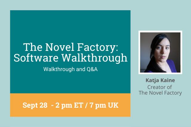 novel factory walkthrough cover