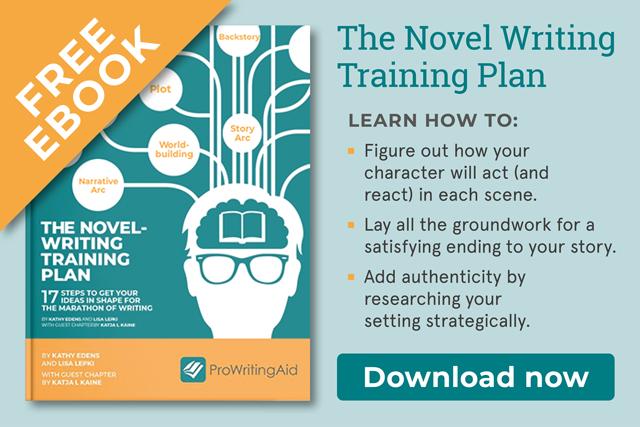 the novel writing training plan ebook