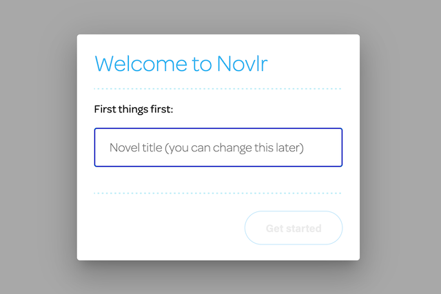 introduction to novlr