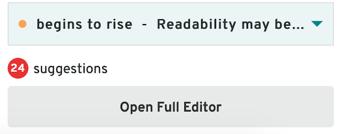 open full editor