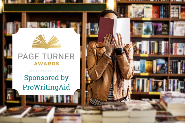 Cover: page turners award 2021, sponsored by prowritingaid