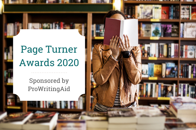 Cover: page turners award 2020, sponsored by prowritingaid