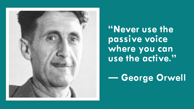 Orwell on the passive voice